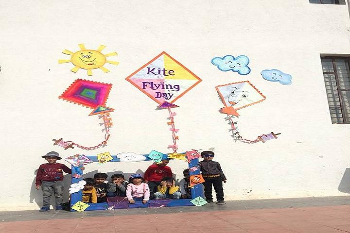 Greenwood International School-Kite Flying Day
