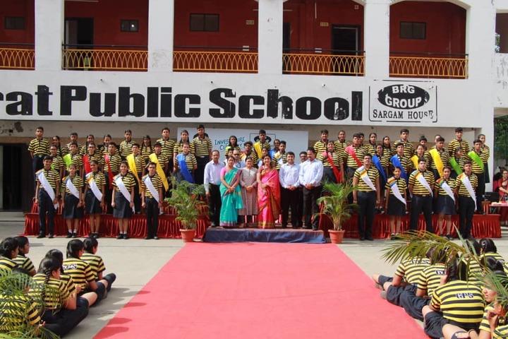 Gujarat Public School-Students and Staff