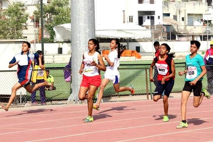 Gujarat Public School-Athletics