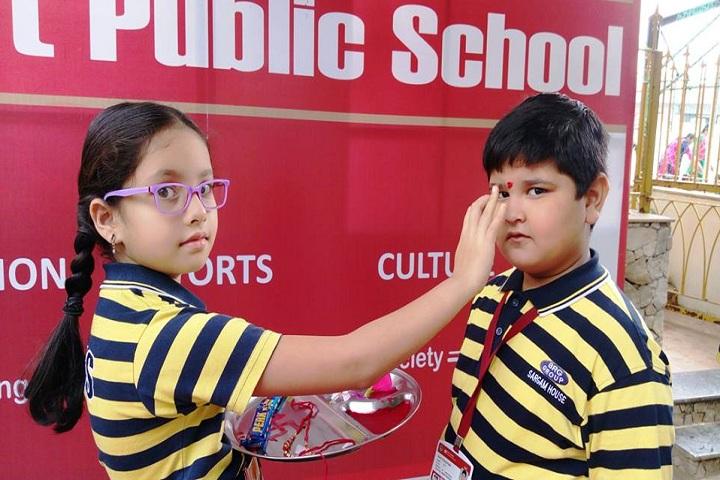 Gujarat Public School-Raksha Bandhan Celebrations
