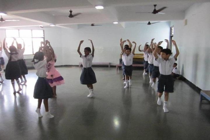 Hills High School-Dance Room