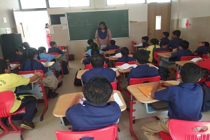 J  P MODI SCHOOL-Classrooms
