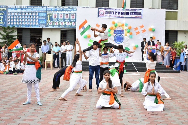 J  P MODI SCHOOL-Independance day