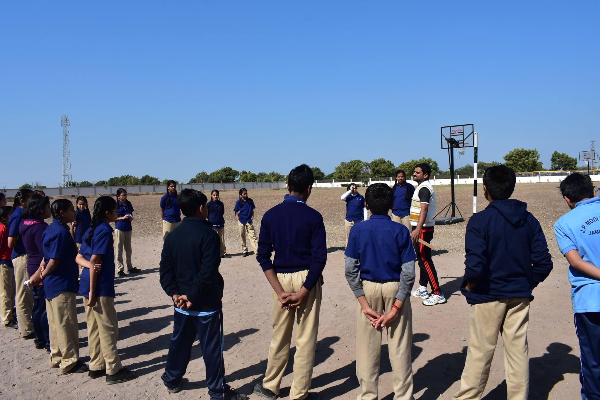 J  P MODI SCHOOL-PlayGround