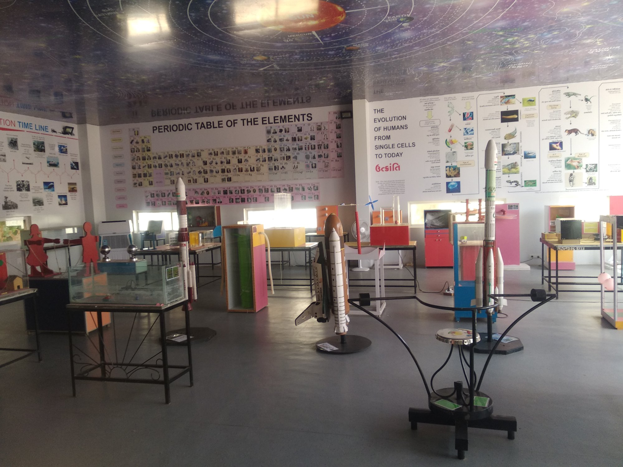 J  P MODI SCHOOL-Science lab