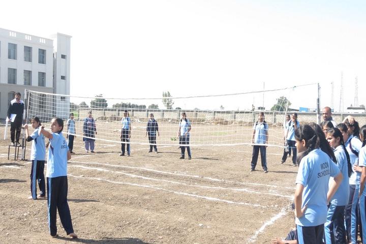 J  P MODI SCHOOL-Volley Ball Court