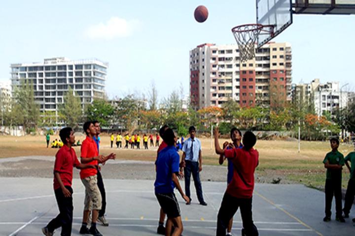 J H Ambani Saraswati Vidya Mandir-Basket Ball Court