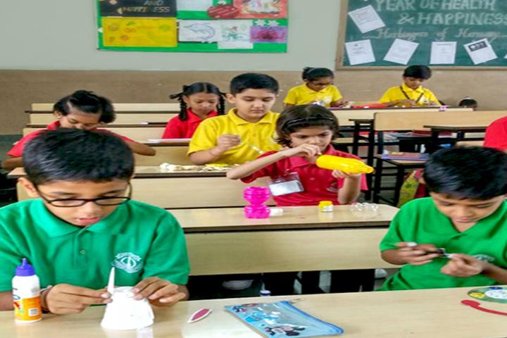 J H Ambani Saraswati Vidya Mandir-Classrooms