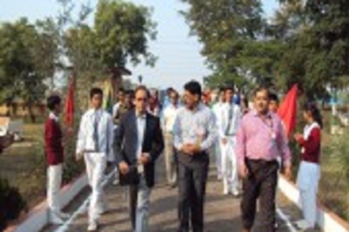 Jawahar Navodaya Vidyalaya School-Collectors visit