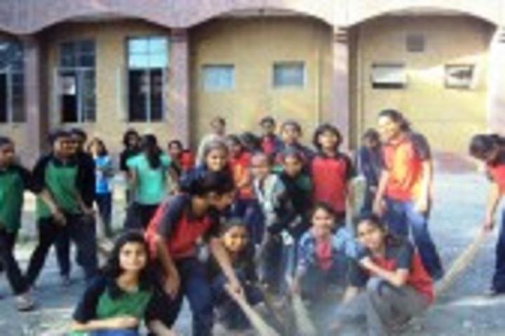 Jawahar Navodaya Vidyalaya School-Cleanliness Campaign