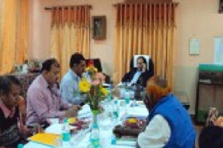 Jawahar Navodaya Vidyalaya School-VMC Meeting
