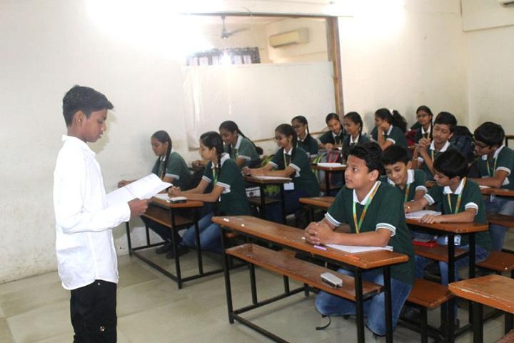 Jay Ambe International School-Classroom