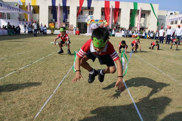 Jay Ambe International School-Games Activity