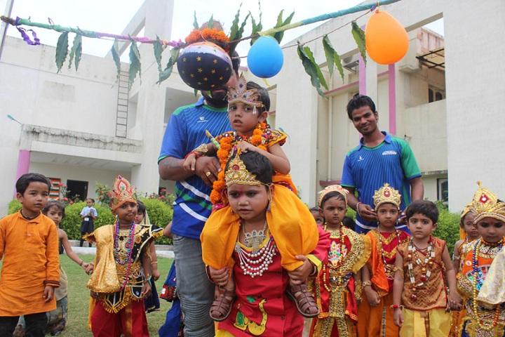 Jay Ambe International School-Janmashtami Celebrations
