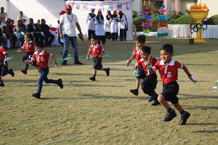 Jay Ambe International School-Running Competition