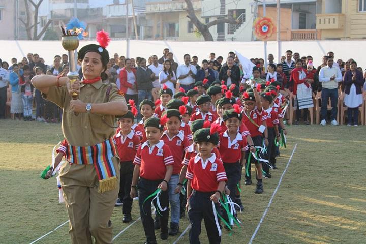 Jay Ambe International School-Sports Day Celebrations