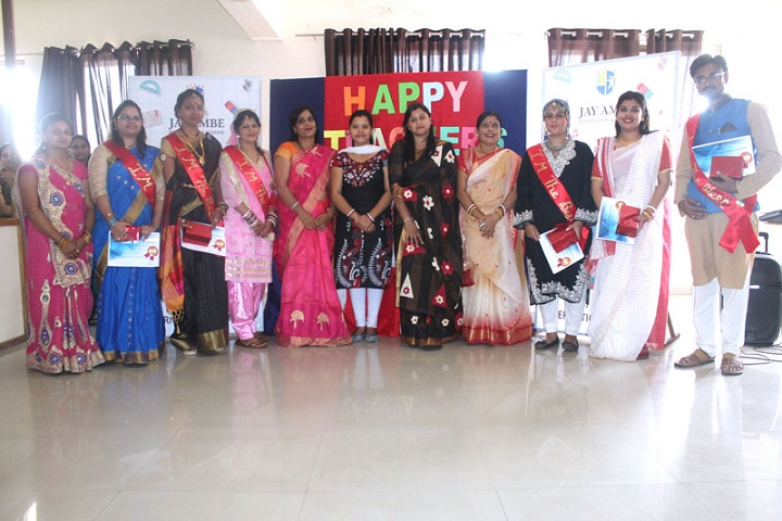 Jay Ambe International School-Teachers Day Celebrations