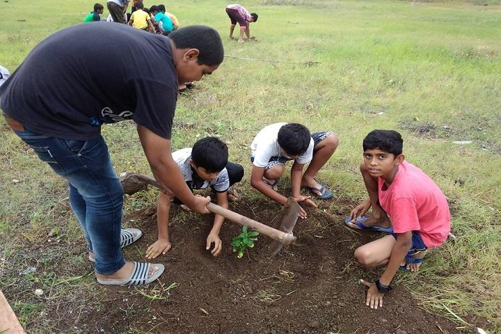 Jay International School-Tree Plantation