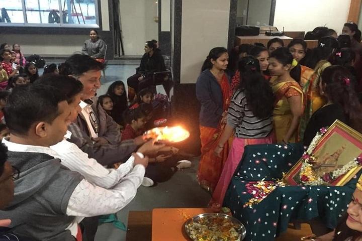 JBDiamonds and KARP Impex Vidya Sankul-Pooja
