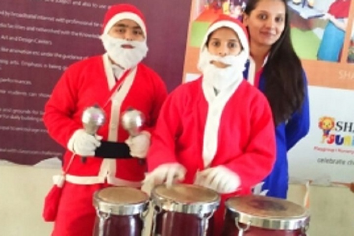 Jeevanshilp International School-Christmas Celebrations