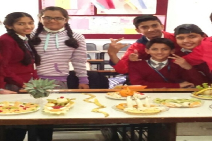 Jeevanshilp International School-Fruit Carving