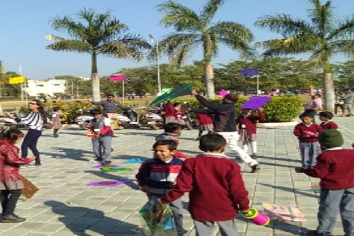 Jeevanshilp International School-Kite Exhibition