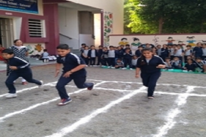 Kalawad English Medium School-Running Competition
