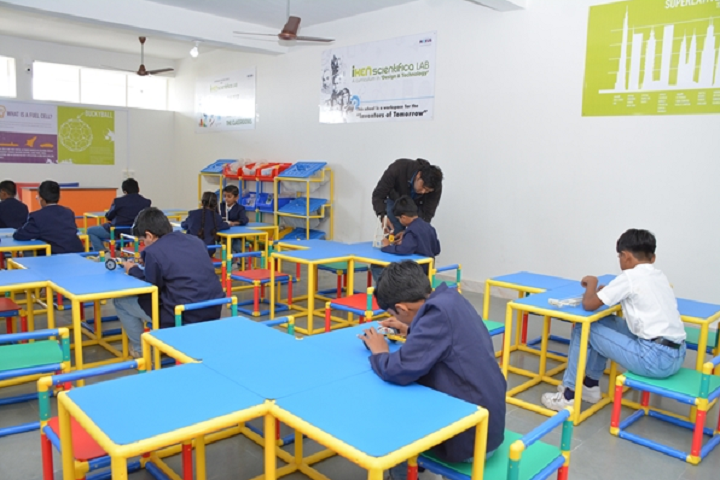 Kalawad English Medium School-Activity Room