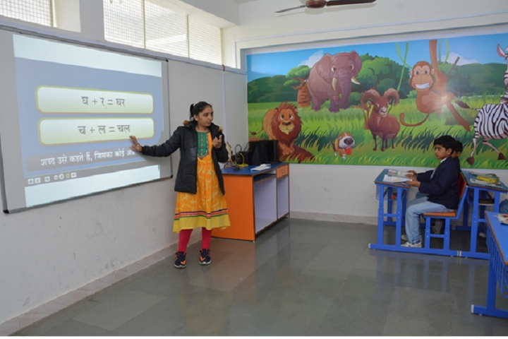 Kalawad English Medium School-Digitial Classroom