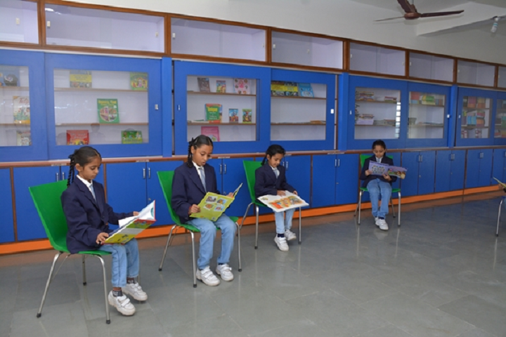 Kalawad English Medium School-Reading Room