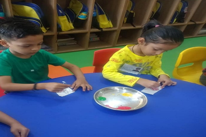 Kameshwar International School-Painting Activity
