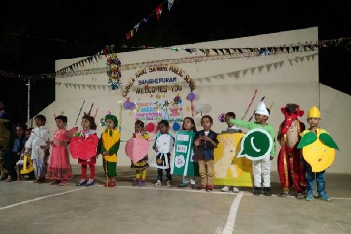 Kamala Rani Sanghi Public School-Fancy Dress Competition