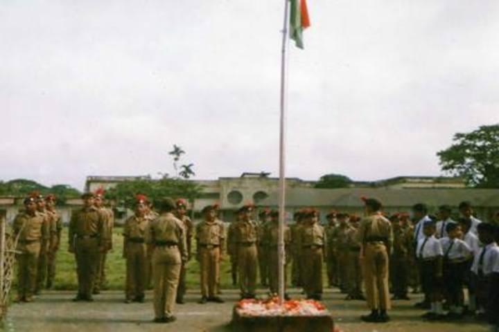 Government Higher Secondary School-Flag Hosting