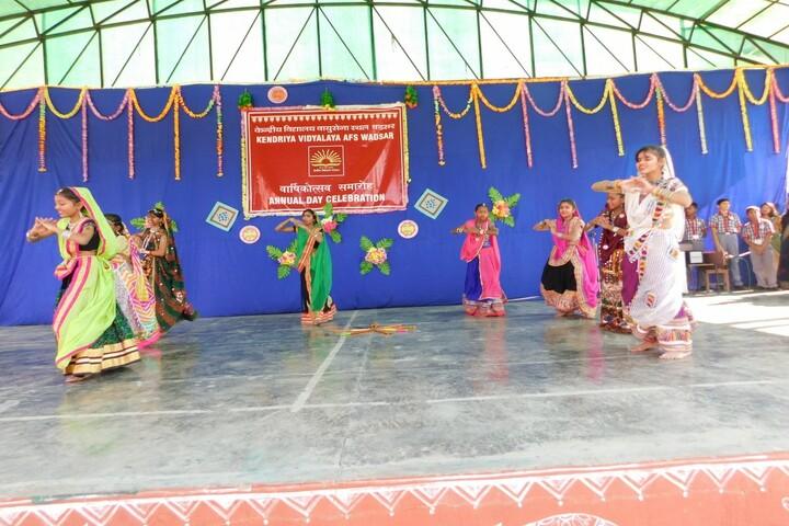 Kendriya Vidyalaya-Dance Performance