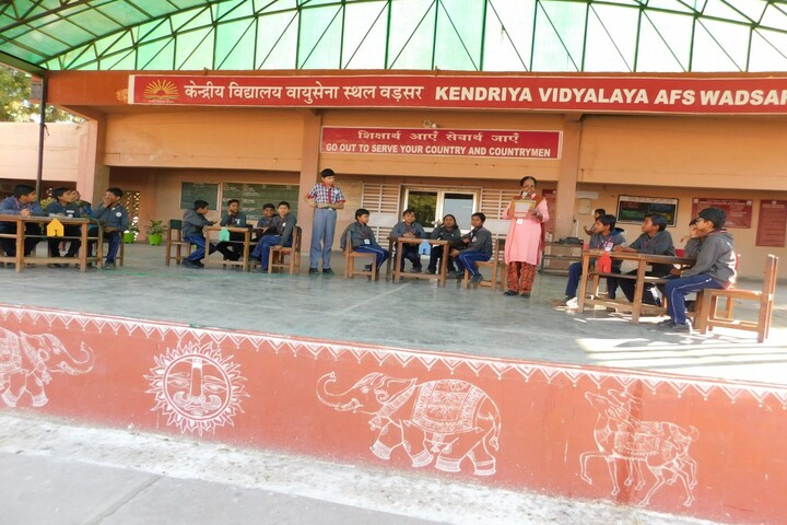 Kendriya Vidyalaya-Curriculum Activity