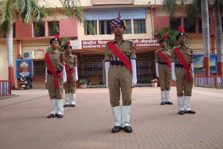 Kendriya Vidyalaya-NCC Activity