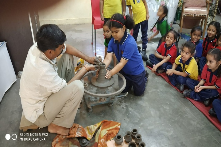 Kendriya Vidyalaya-Pot Making Activity