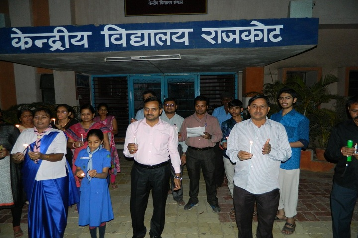 Kendriya Vidyalaya-Candle Light March