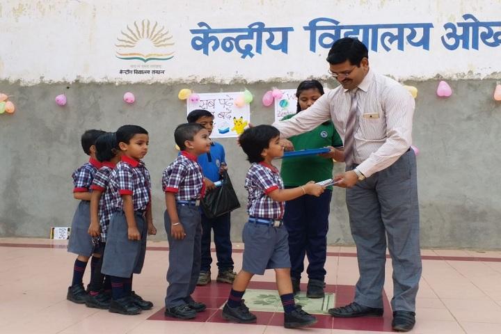 Kendriya Vidyalaya-Welcoming Class 1 Students