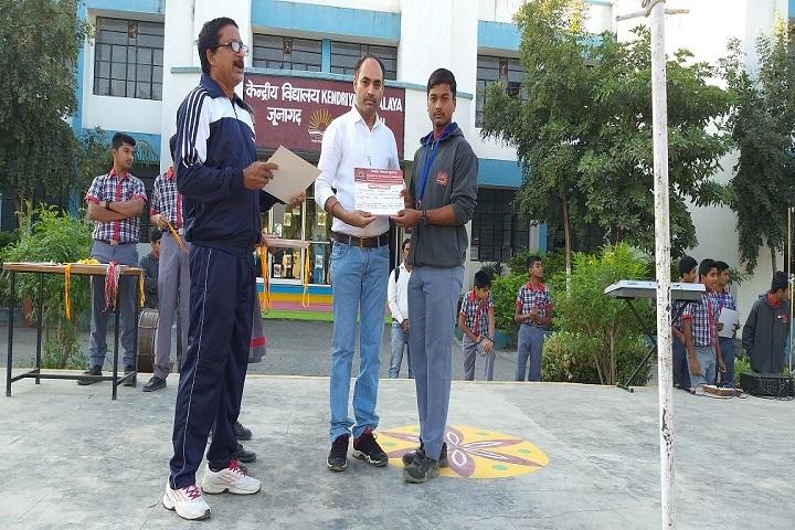 Kendriya Vidyalaya-Certificate Distribution