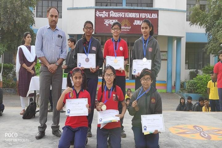 Kendriya Vidyalaya-Prize Winners