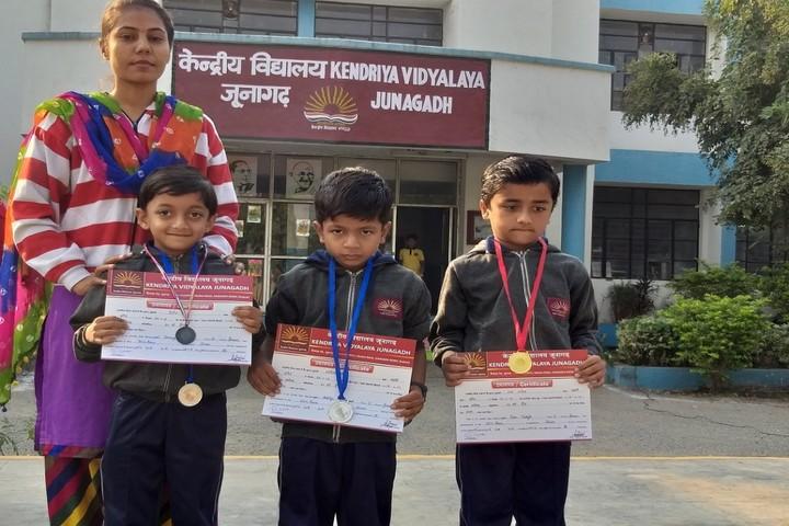 Kendriya Vidyalaya-Primary Prize Winners