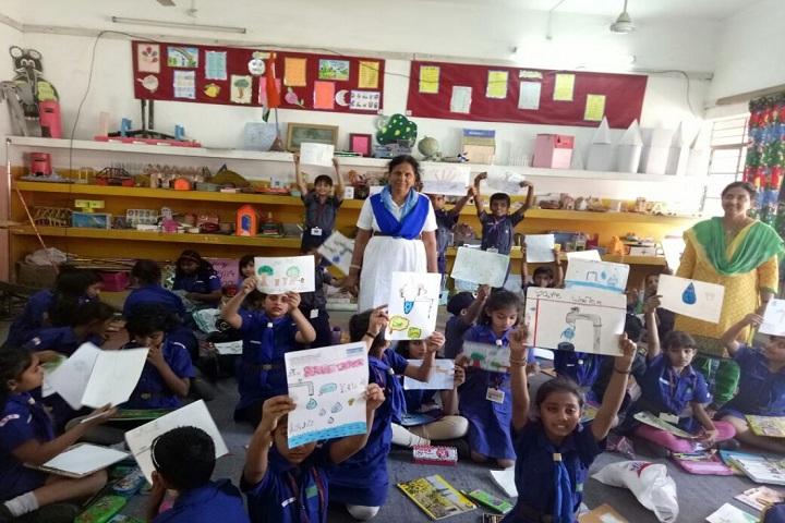Kendriya Vidyalaya-Drawing Class