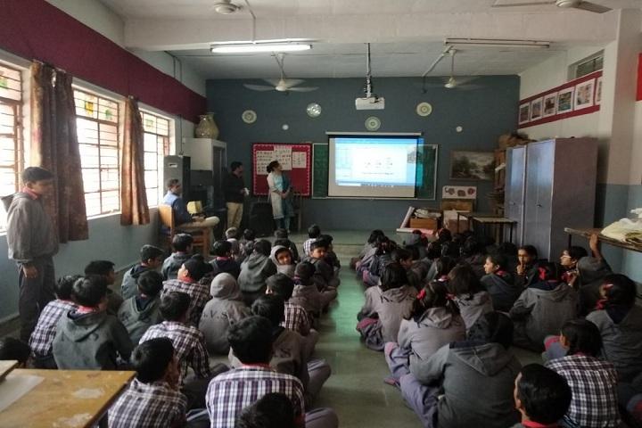 Kendriya Vidyalayal-Classroom