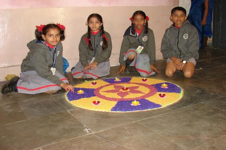 Kendriya Vidyalaya No 1-Rangoli Competition