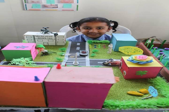L P Savani Academy-Science Exhibition
