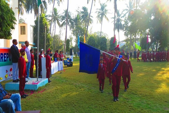 Manav Kendra Gyan Mandir School-Republic day