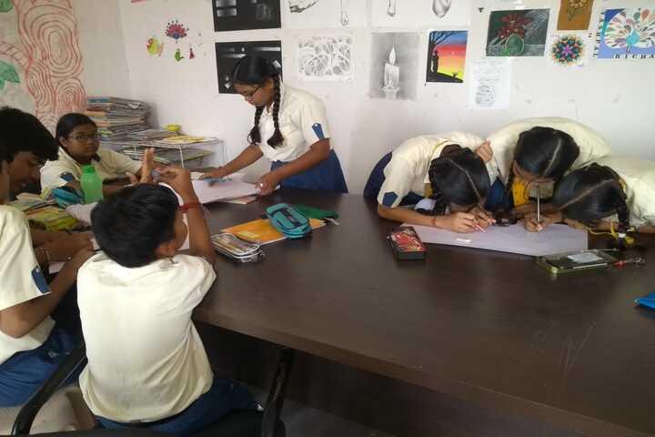 Mauryan High School-Drawing