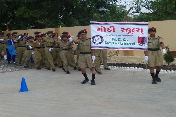 Modi School-NCC