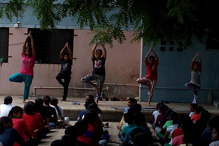 Mother Care School-Yoga Day